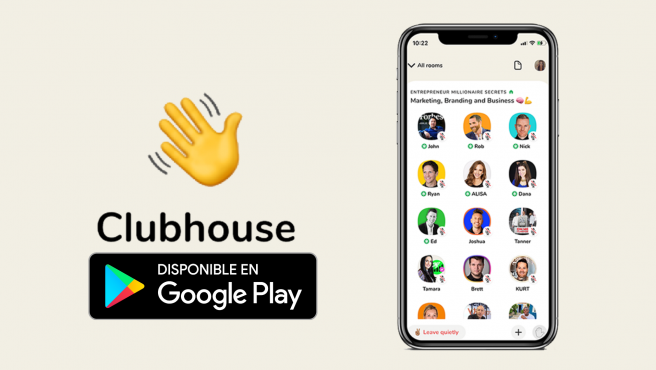 Clubhouse disponible android