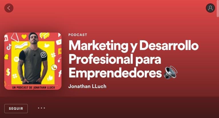 Podcast Jonathan Lluch