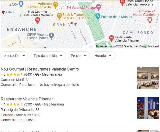 My business para restaurantes