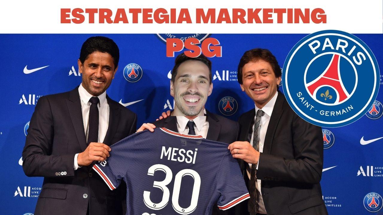 En este momento estás viendo La estrategia de marketing del PSG con la llegada de Messi a parís
